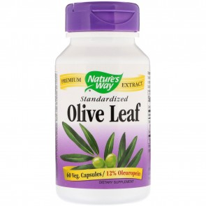 Nature's Way Olive Leaf Extract 60 Capsules