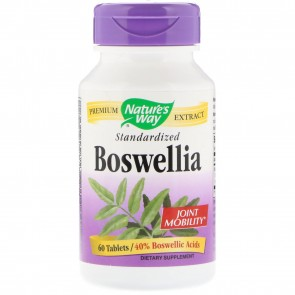 Nature's Way Boswellia Standardized 60 Tablets