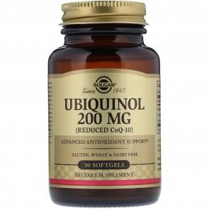 Solgar Ubiquinol 200 mg 30 Softgels