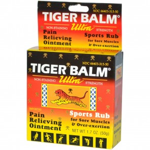 Tiger Balm Ultra Strength Pain Relieving Ointment 1.7 oz