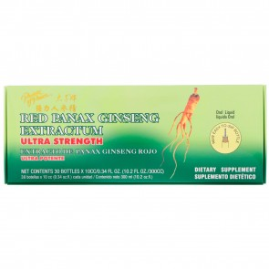 Prince of Peace Red Panax Ginseng Extractum Ultra Strength 30 Bottles 0.34 fl oz (10 cc)
