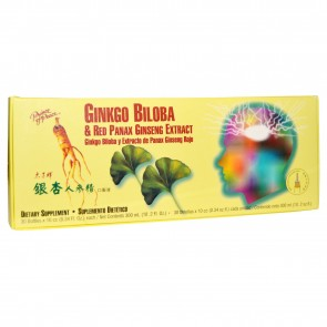 Prince of Peace, Ginkgo Biloba & Red Panax Ginseng Extract, 30 Bottles, 0.34 fl oz Each
