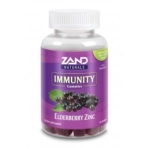 Zand Elderberry Zinc Gummies with Vitamin C 60 Gummies