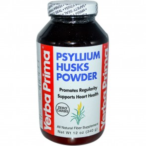 Yerba Prima Psyllium Husks 12 oz Powder