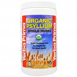 Yerba Prima Organic Psyllium Whole Husks 12 oz