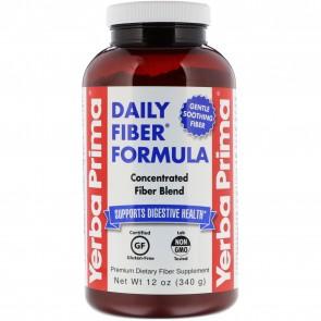 Yerba Prima Daily Fiber Formula 12 oz Powder