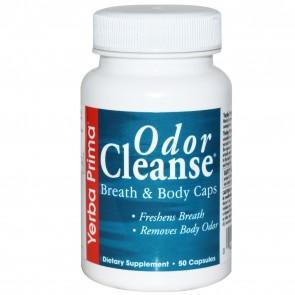 Yerba Prima Odor Cleanse Breath & Body 50 Capsules
