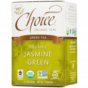 Choice Organic Teas Green Tea Jasmine Green 16 Tea Bags