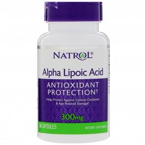 Natrol Alpha Lipoic Acid 300 mg 50 Capsules