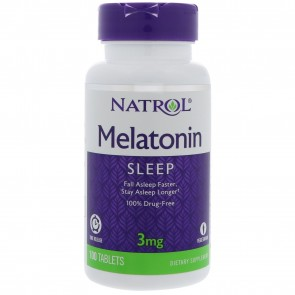 Natrol Melatonin 3mg Timed Release Vegetarian 60 Tablet