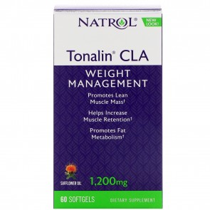 Natrol Tonalin CLA 1200mg, 60 Softgels