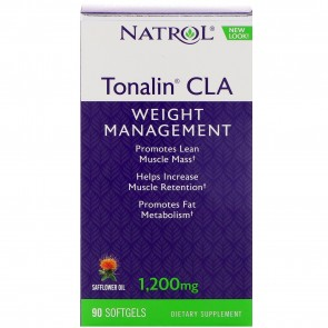 Natrol Tonalin CLA 1200 mg 90 Softgels