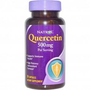 Natrol, Quercetin, 500 mg, 50 Capsules