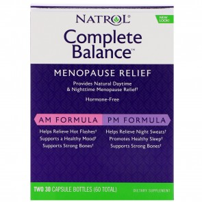 Complete Balance AM / PM Formula for Menopause