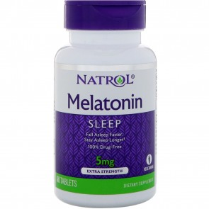Natrol Melatonin 5 mg 60 Tablets