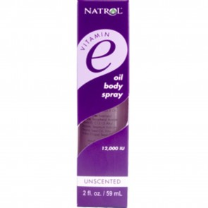 Natrol Vitamin E Oil Body Spray - Unscented