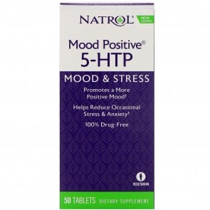 Natrol Mood Positive 5-HTP 50 Tablets