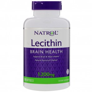 Natrol Soya Lecithin 1200 mg 120 Softgels