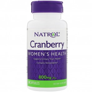 Natrol Cranberry Extract 800 mg 30 Capsules