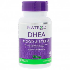 Natrol, DHEA, 50 mg, 60 Tablets