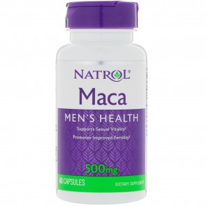 Maca 500mg, 60 Capsules from Natrol