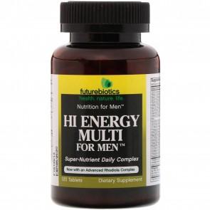 Futurebiotics Hi Energy Multi for Men 120 Tablets