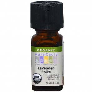Aura Cacia Essential Oil Lavender Spike 0.25 fl oz