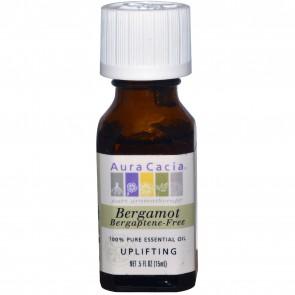 Aura Cacia Essential Oil Bergamot 0.5 fl oz