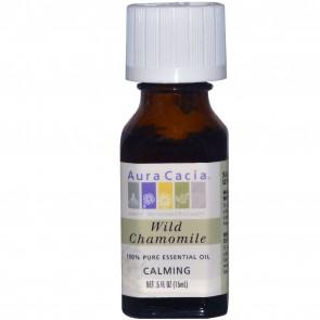 Aura Cacia Essential Oil Wild Chamomile 0.5 fl oz