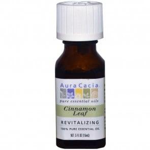 Aura Cacia, Cinnamon Leaf, Revitalizing, .5 fl oz (15 ml)