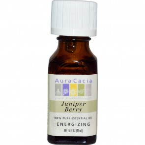 Aura Cacia Essentail Oil Juniper Berry 0.5 fl oz
