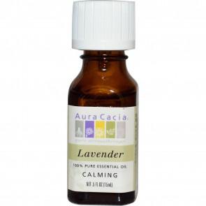 Aura Cacia Essential Oil Lavender 0.5 fl oz