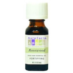 Aura Cacia Essential Oil Rosewood .5 fl oz