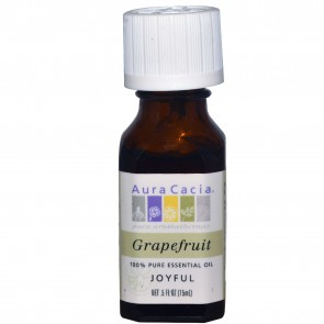 Aura Cacia Essentail Oil Grapefruit 0.5 fl oz