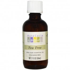 Aura Cacia 100% Pure Essential Oil Tea Tree 2 fl oz (59 ml)