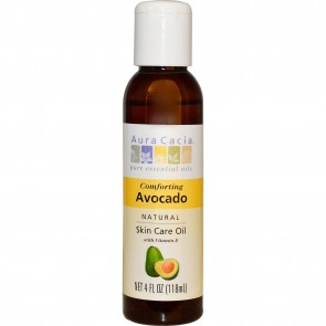 Aura Cacia Essential Oil Avocado Oil 4 fl oz
