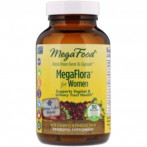 MegaFood MegaFlora for Women 50 Billion 90 Capsules