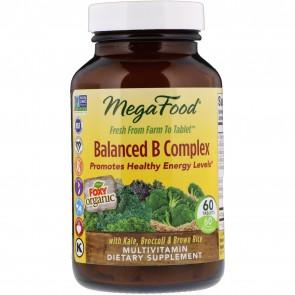 MegaFood Balanced B Complex 60 Tablets