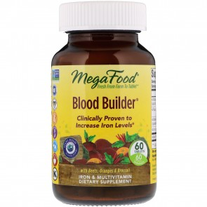 MegaFood Blood Builder 60 Tablets