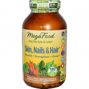 MegaFood Skin Nails and Hair 180 Tablets