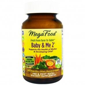 MegaFood Baby & Me 2 60 Tablets