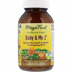 MegaFood Baby & Me 2 120 Tablets