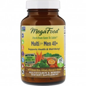 MegaFood Multi for Men 40+ 60 Tablets