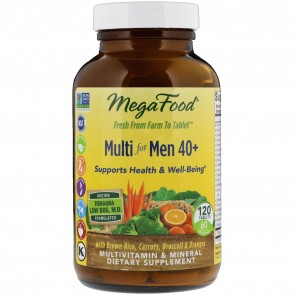 MegaFood Multi for Men 40+ 120 Tablets
