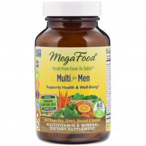 MegaFood Multi for Men 60 Tablets