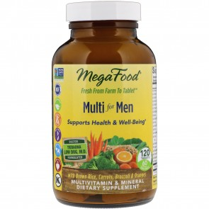 MegaFood Multi for Men 120 Tablets