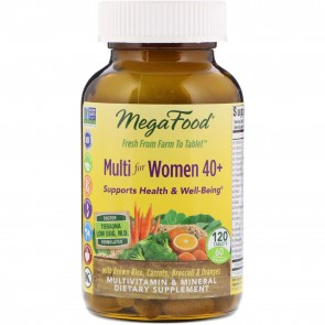 MegaFood Multi for Women 40+ 120 Tablets