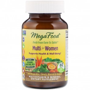 MegaFood Multi for Women 60 Tablets