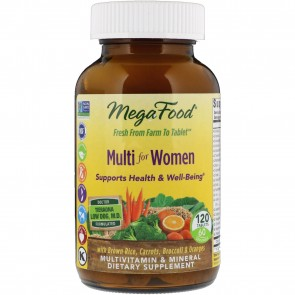 MegaFood Multi for Women 120 Tablets