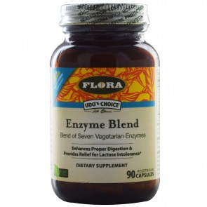 Flora Inc Udo's Enzyme Blend 90 Capsules